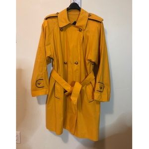 Burberry's made in England trench coat
